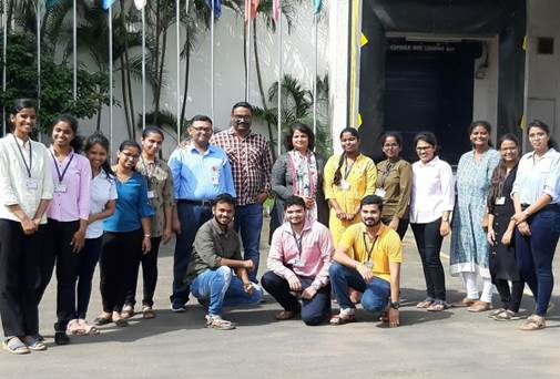 Visit of S.Y. M.Pharm students to ACG Capsules Pvt. Ltd.